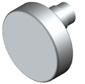 Drehknauf Flachknopf exzentrisch 60mm