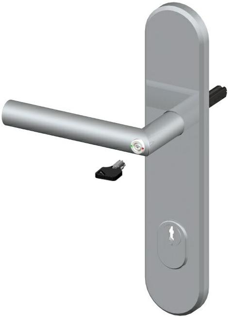 Notöffnung WC Imonta Türgriff Schutzbeschlag Frankfurter Modell